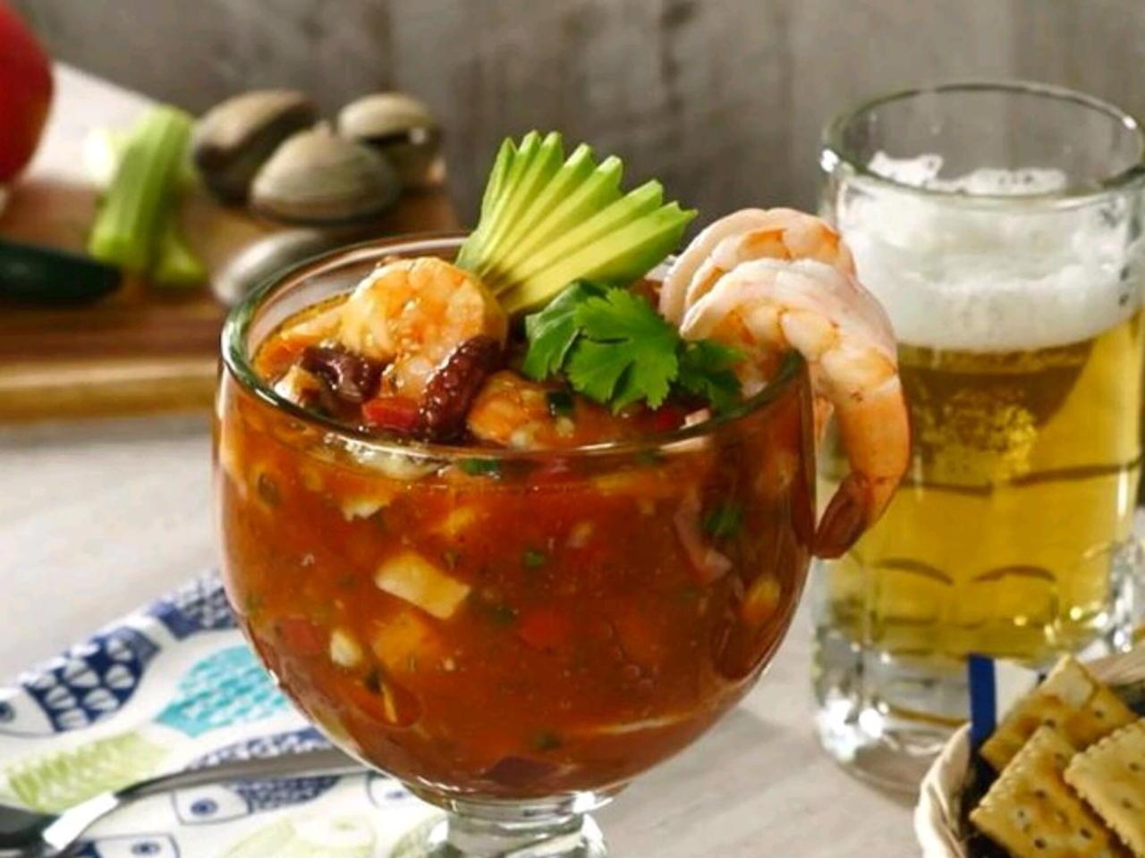 Vuelve a la vida, un clásico de la comida típica de Veracruz.
