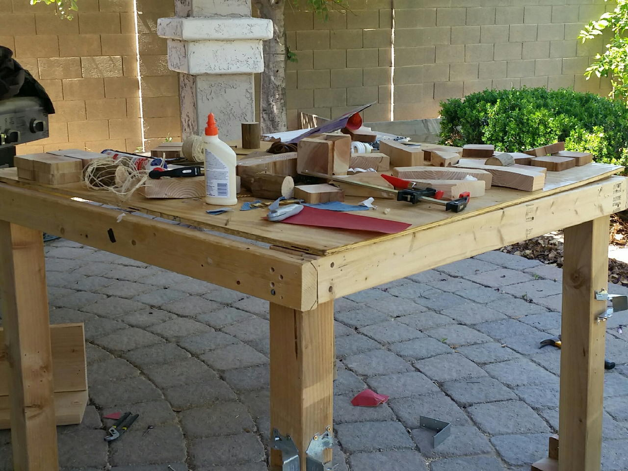 Surprising 10 Tutorials For Plywood Work Bench How To Make Woodwork Caraccident5 Cool Chair Designs And Ideas Caraccident5Info