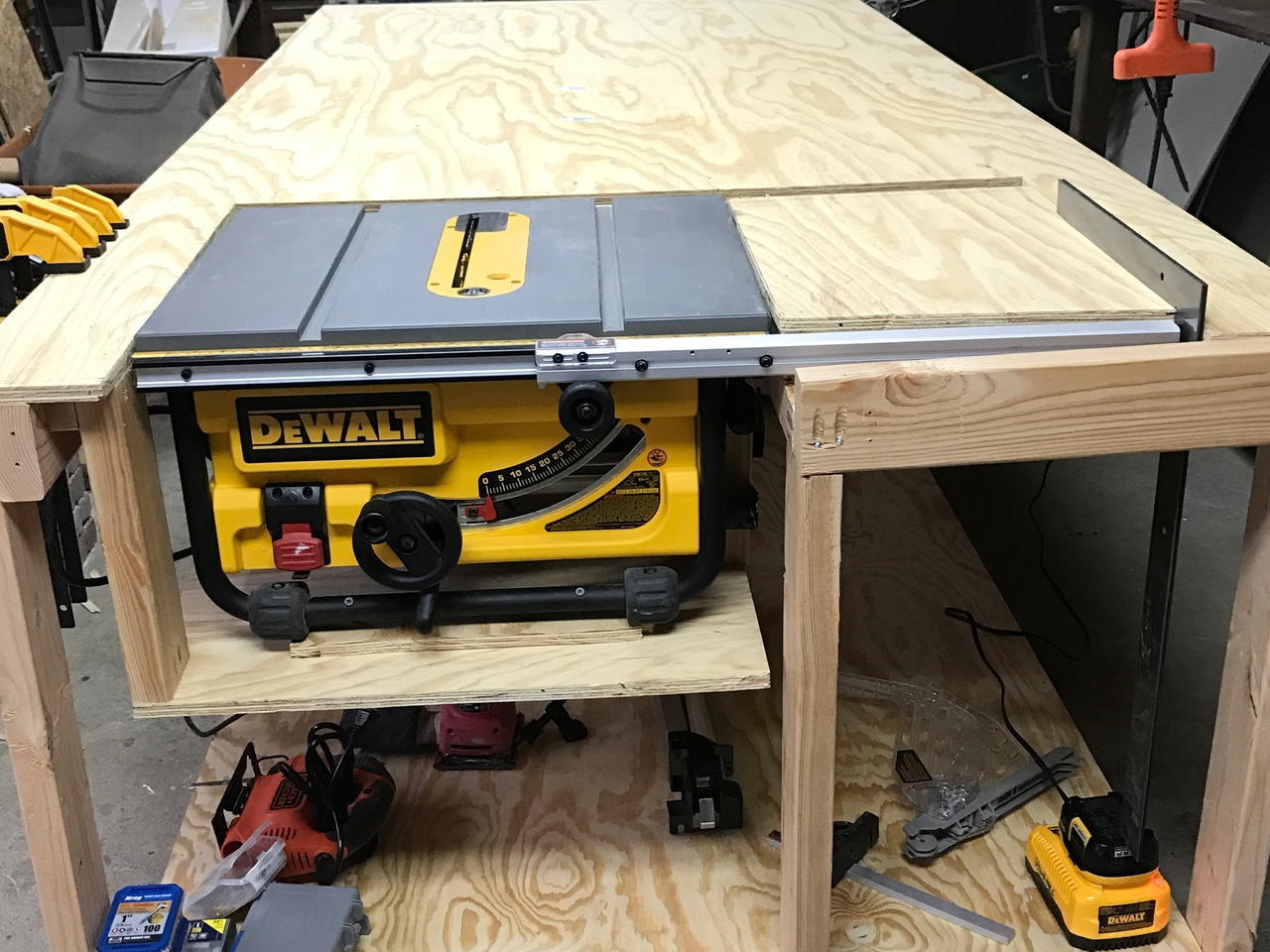 How To Make Table Saw Work Table By Travis Craftlog