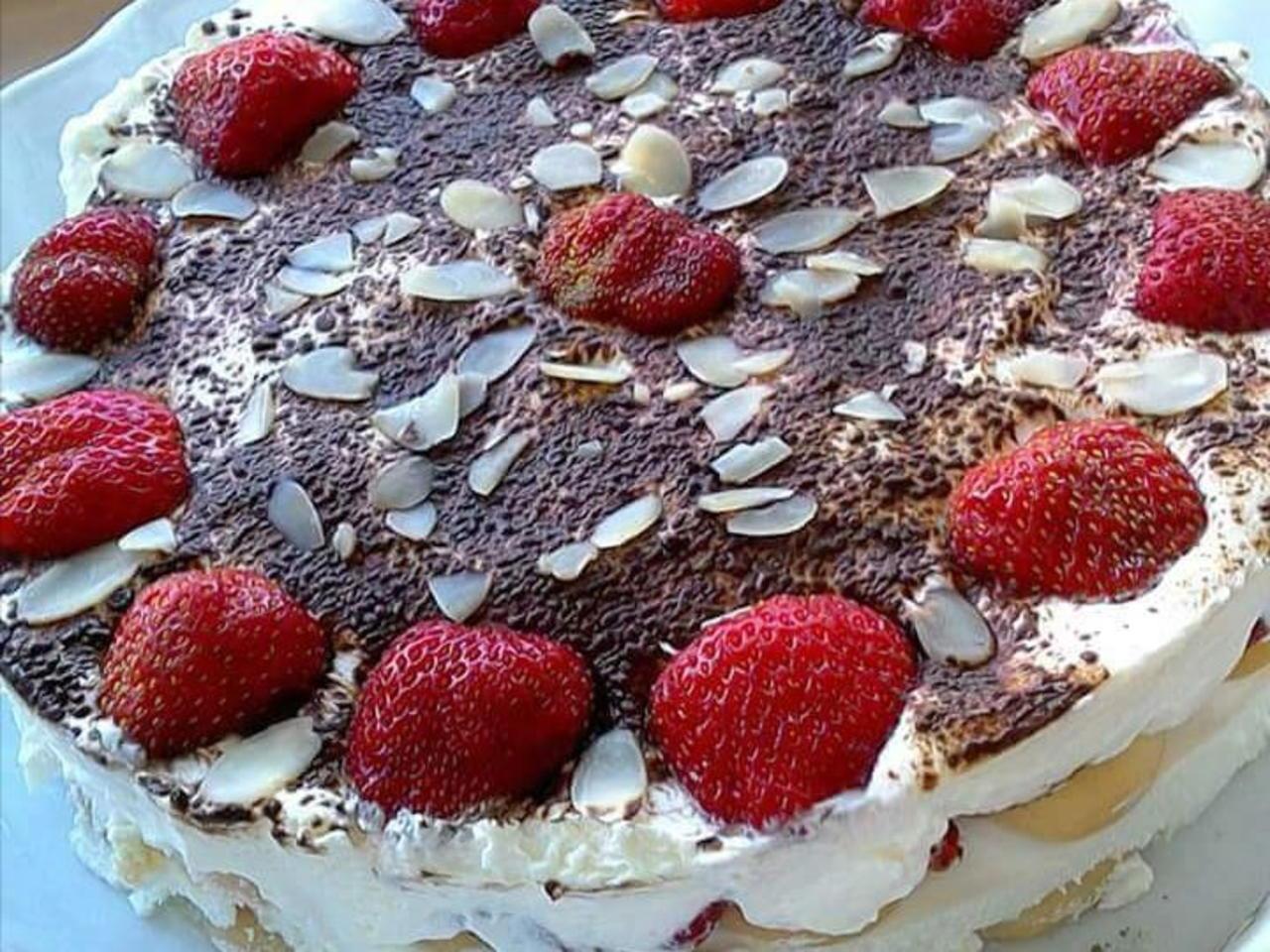 Nepečený dort s mascarpone