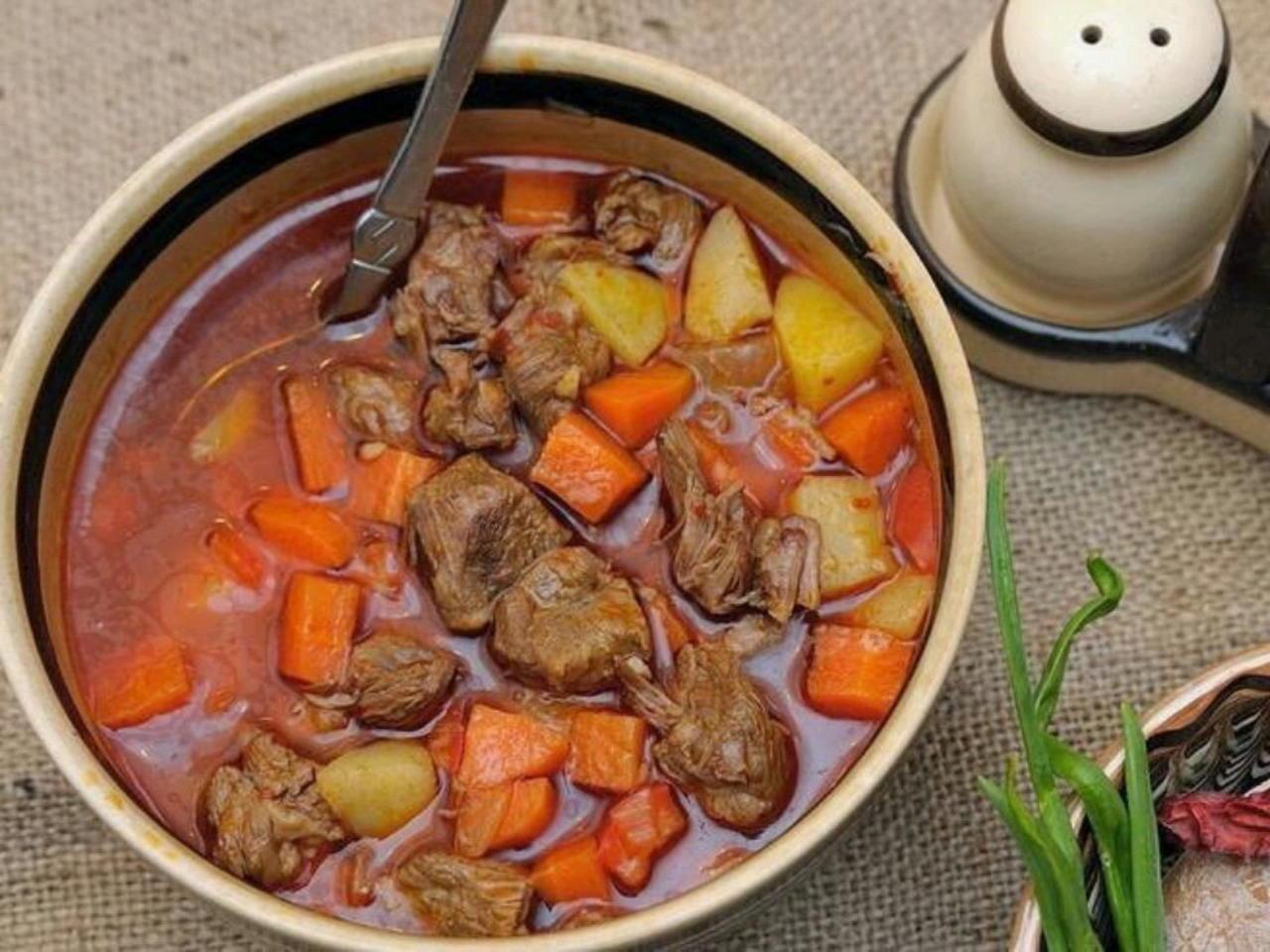 суп гуляш венгерский классический рецепт с фото впоследствии, после